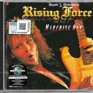 Yngwie Malmsteen Rising Force Marching Out Imported CD