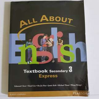 All About English Sec 3 Textbook Express