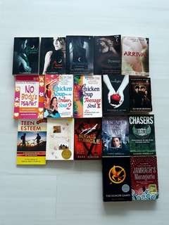 CLEARANCE: Young Adult novels + how to books