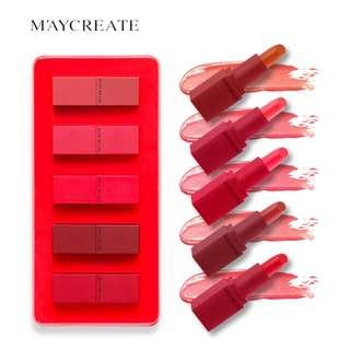 Maycreate 5 in 1 Matte Lipstick Set