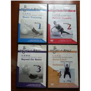 Stability Ball Instructor Training DVDs
