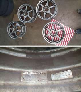 "Original SSR Spec-C 17"" Rims"