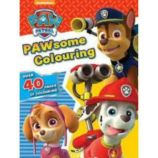 BN Nickelodeon PAW Patrol PAWsome Colouring