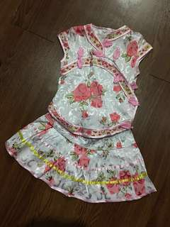 🎀 Baby Cheongsam 2 pieces #20under