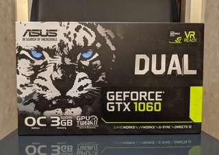 Asus Dual GTX 1060 O3G