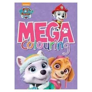 BN Nickelodeon PAW Patrol Mega Colouring