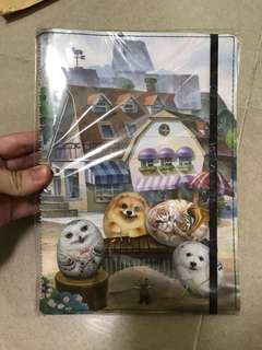 Henry Cats & Friends notebook 亨利屋家族