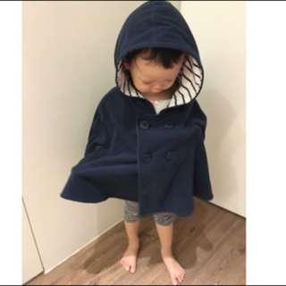 啾寶💋《現貨》Lativ 深藍色 寶寶 斗篷「特價 清倉價」