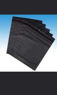 Black polymailer bag