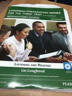 🚚 Longman Preparation Series For The Toeic Test with answer key Introductory Course 5Th Edition / Pearson