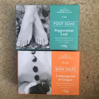 Foot soak and bath salts