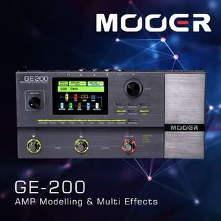 Multi effects - Mooer GE-200