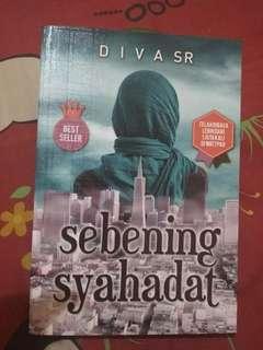 Novel Sebening Syahadat Karya Diva SR