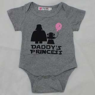 Baby Romper - Daddy's Princess