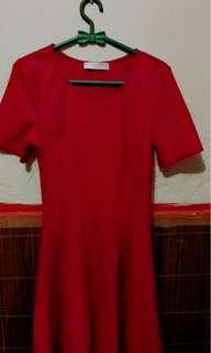 Dress merah Pull&bear