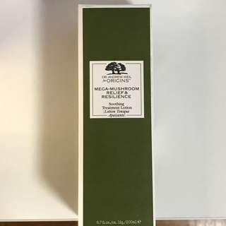 Origins Dr Andrew Weil Mega Mushroom soothing treatment lotion