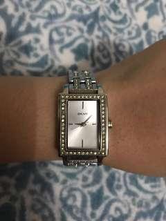 AUTHENTIC DKNY NY8623 Rectangular Watch