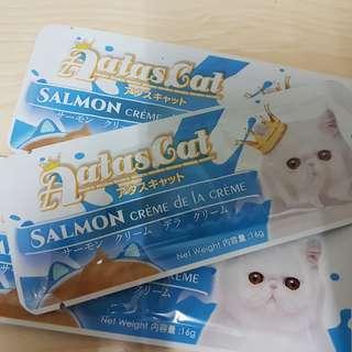 Aatas Crem Purrpuree Ciao cat kitten treats