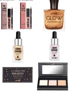 Instocks bn | Barry m products