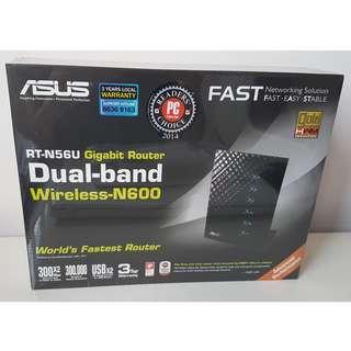 RT-N56U Dual-Band Wireless-N600 Gigabit Router