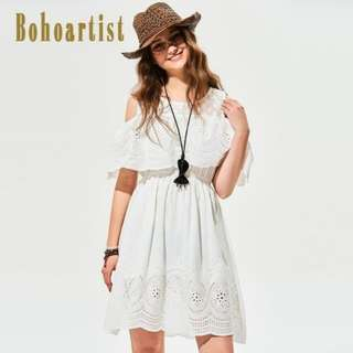 [PO] Boho Wild Shoulders Dress (54)