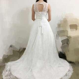 99%新.顯瘦.輕便.多lace.靚款婚紗