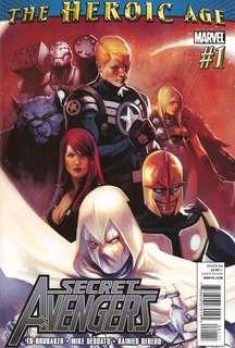 Secret Avengers v1 #1-3, 5, 7-8, 10, 12, 15-16, 20-23, 28-33, 35-37