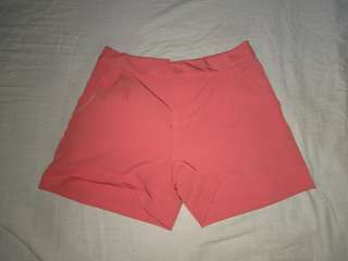 Orange cotton short