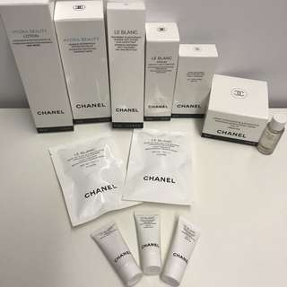 Chanel Le Blanc and Chanel Hydra Beauty