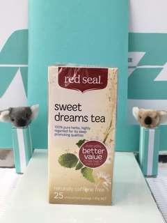 🚚 🇳🇿紐西蘭 red seal 紅印 sweet dreams tea   舒眠茶包 25入