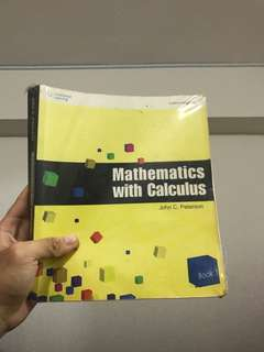 Mathematics with Calculus Book 1