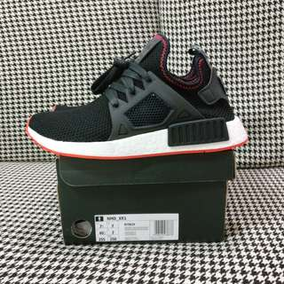 US7.5 UK7 Adidas NMD XR1 Black Solar Red