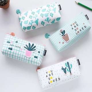 Cute Plants Pencil Case