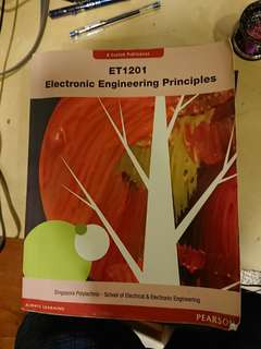 Electronic electrical engineering /EEE Singapore poly textbook