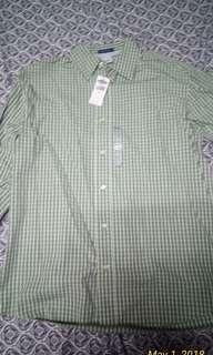 Old Navy, green long sleeves. Original fit