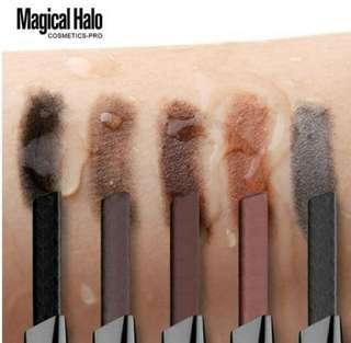 Magical Halo Automatic Eyebrow Pencil 04 Light Brown Coklat Muda