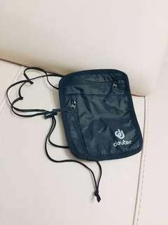 Authentic DEUTER Travel pouch / passport - lightweight