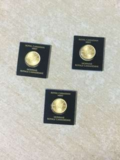 Canadian Mint Pure 999 Gold Coin 1g