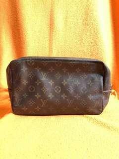 Authentic Louis Vuitton Trousse GM Toiletry Bag