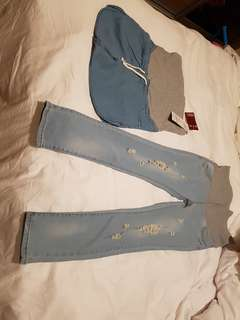 $20 for both Maternity pants and jeans
