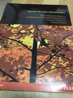 🚚 Social Research Methods / Neuman / Seventh Edition