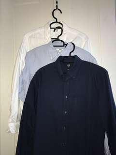 Uniqlo formal shirts