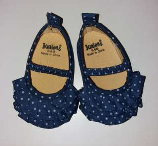 Juniors Baby Polka Dot Shoes