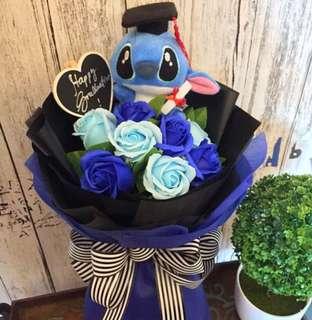 Stitch Graduation Bouquet