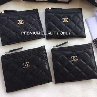 Chanel Zipper Card Case
