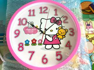 Hello Kitty Clock(wall)