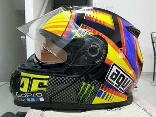 Fullface helmet AGV rep