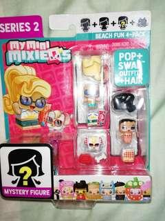 Brand New My Mini Mixieq's beach fun 4-pack