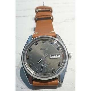 [父親節優惠,買一隻九折,買兩隻以上八折,優惠期至6月20日] 罕有古董 Grand Seiko 精工自動星期日曆錶 (6146-8040T)