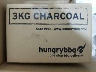 New & Sealed BBQ 3kg Charcoal